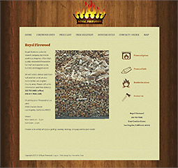 Web site for Los Angeles Contractor